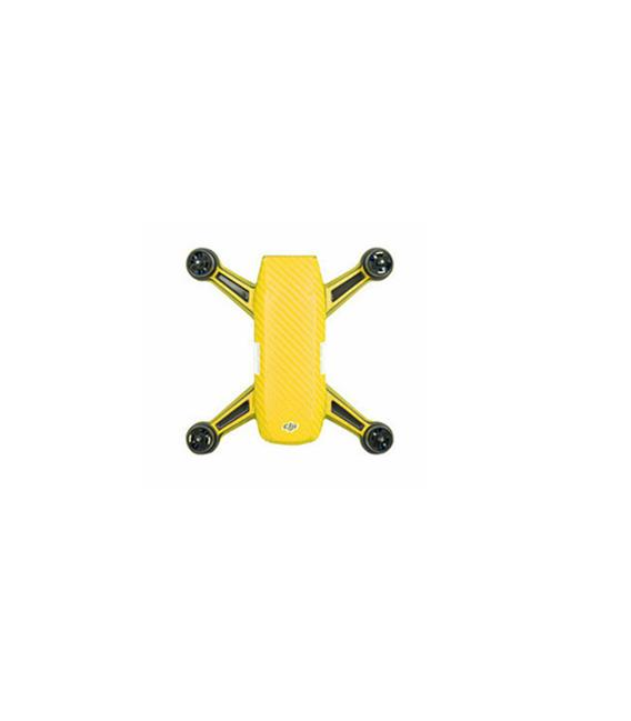 Waterproof PVC Sticker for DJI Spark(Spark+Battery) Yellow