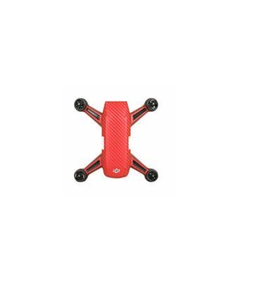 Waterproof PVC Sticker for DJI Spark(Spark+Battery) RED