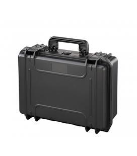 Mala Rígida Preta Com Espuma - Max430S