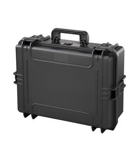 Mala Rígida Preta Com Espuma - Max505S