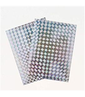 Fita Holográfica Espanta Pássaros 7,3x10cm (2Pcs)