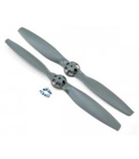 E-Flite Prop,CW & CCW Rotation, Gray: 350 QX