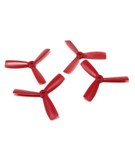 Dalprops 4045 Bull Nose 3 Blade (4pcs) Red