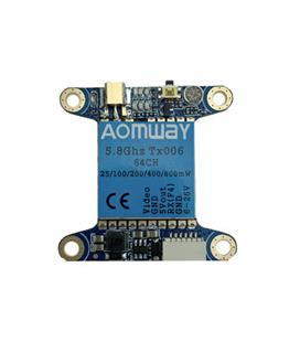 Aomway ClearTX006 2 5.8G 48CH 25/200/500/800mW