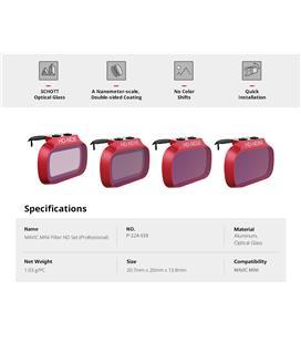 Sunnylife Aluminum Alloy Motor Protector Cover For DJI Mavic Mini Drone
