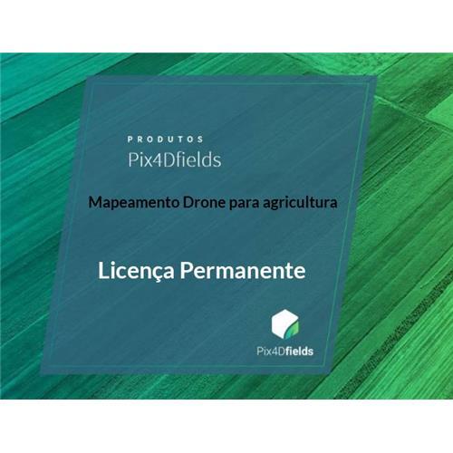 Pix4Dfields Licença Permanente