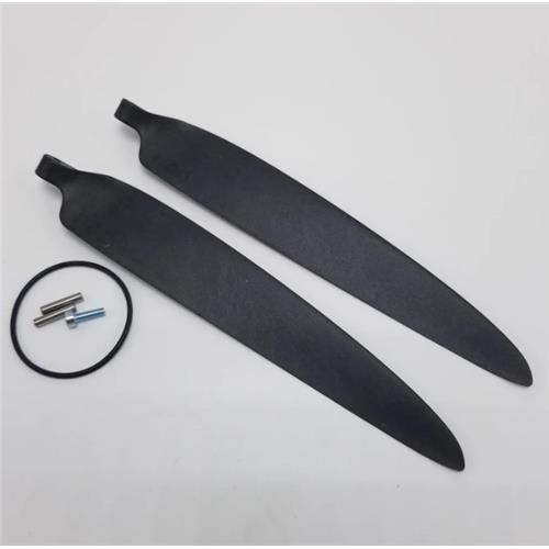 Quantum-System Trinity F90+ Change Front Propeller Red R3 Left
