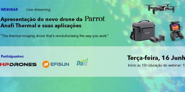 Webinar Parrot Anafi Thermal View