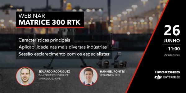 Webinar Matrice 300 RTK